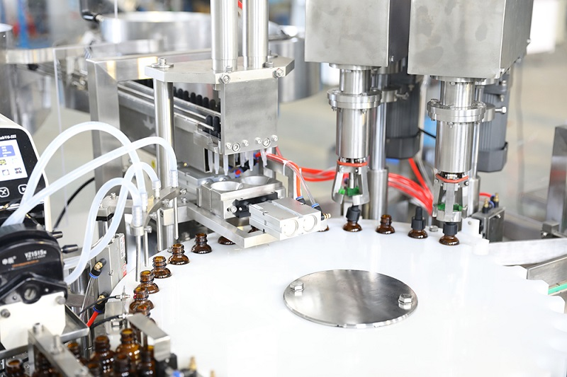 Sunswell made tincture filling line for US customer