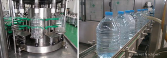 5 gallon bottling water line