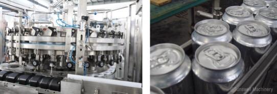 9,000 CPH Canning line