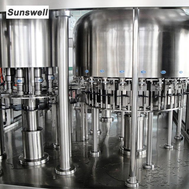 3 in 1 Full Automatic Drinking Water Filling Machine Bottling Production Line