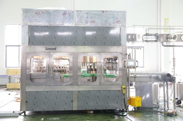 aluminum bottle water filling machine 1