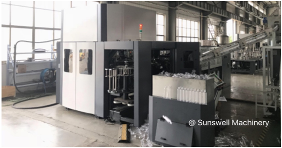Sunswell Exported 20,000BPH CSD PET Bottle Blowing Machine to the USA