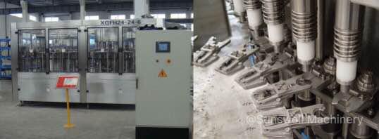 SSW filling machine 1