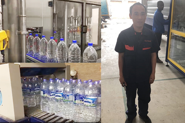 Return with Glory: Zimbabwe 10,000BPH Water Bottling Line Run Successfully